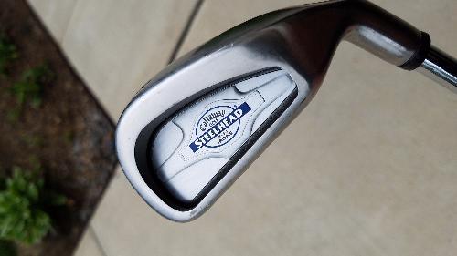 Callaway Steelhead Irons Xr Irons Golfbuzz